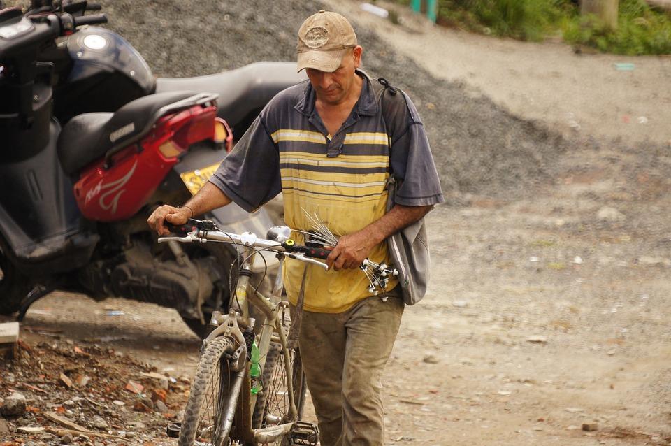 Peasant, The, Field, Armenia, Quindio, Colombia