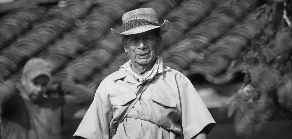 Old Age, Person, Black And White, Peasant, Man, Veteran
