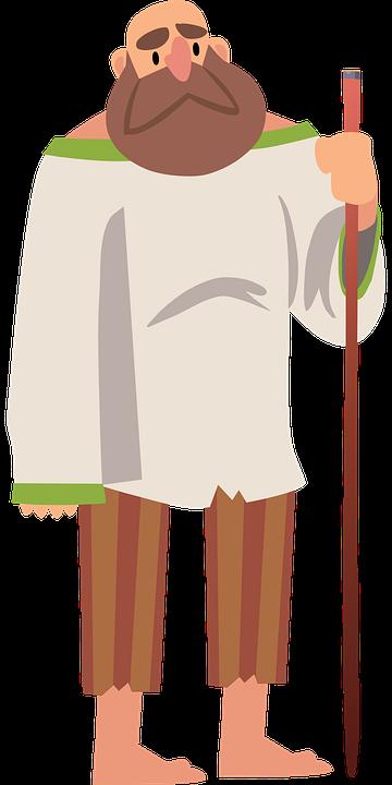 Peasant, Farmer, Man, Old, People, Poor
