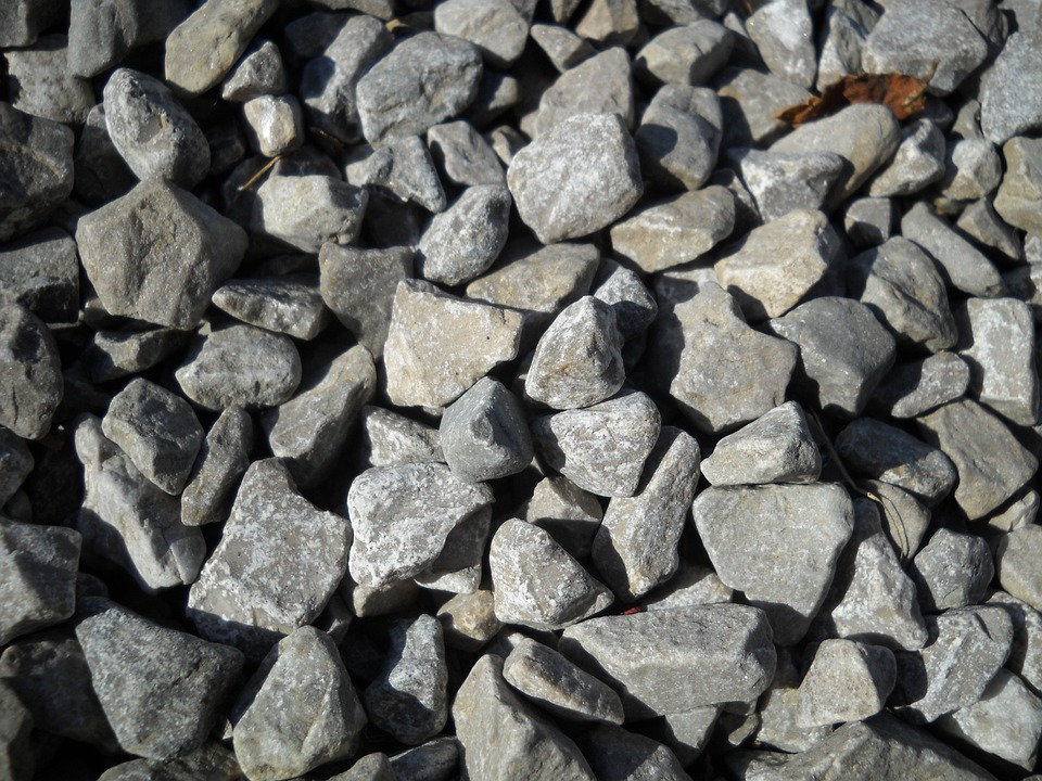 Gravel, Rock, Stones, Grey, Pebble, Granite, Material