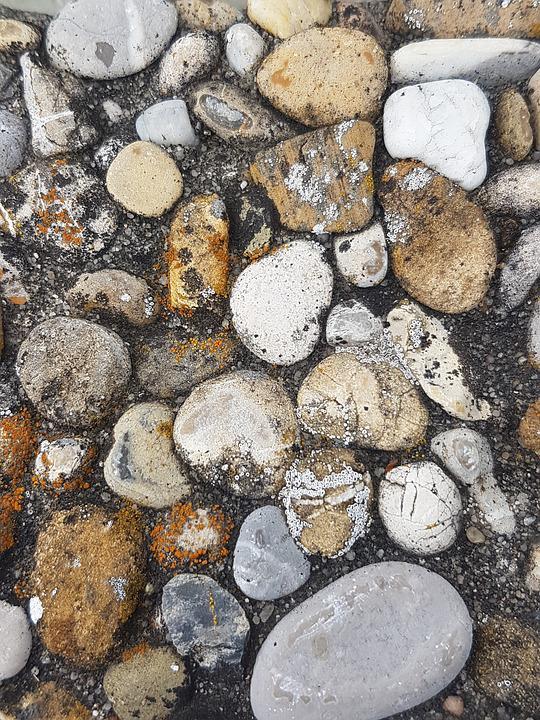Plate, Stones, Pebble