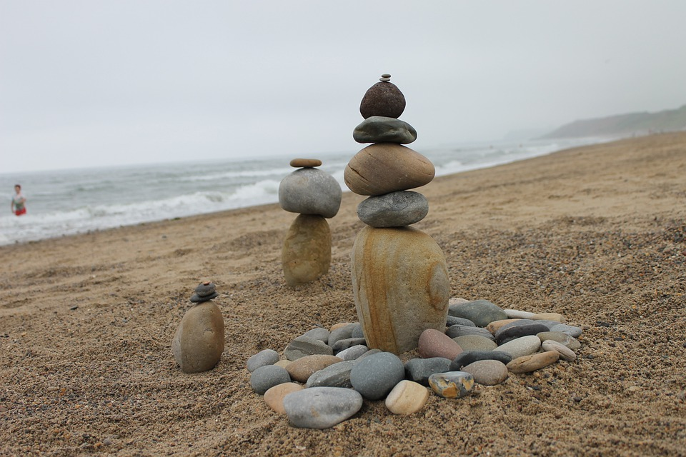 Balance, Cairns, Stone Sculpture, Stack, Rock, Pebble