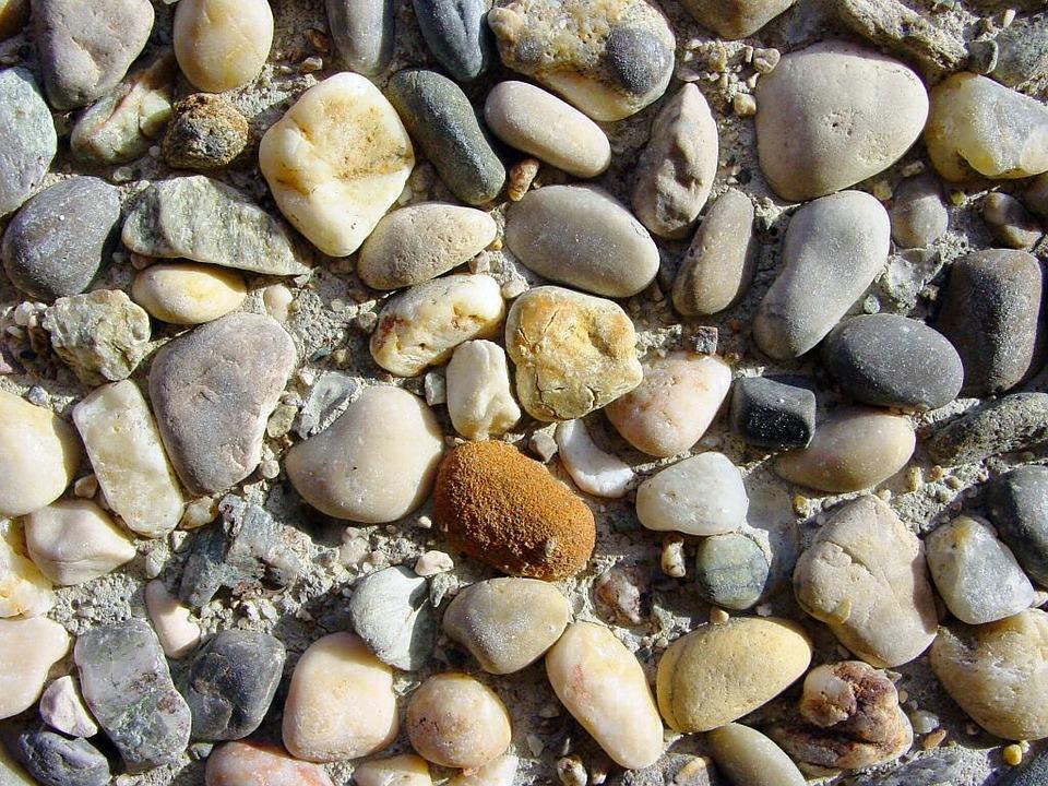 Stones, Bach Stones, Bach, Pebble, Steinchen