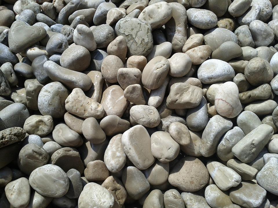 Beach, Gravel, Pebbles