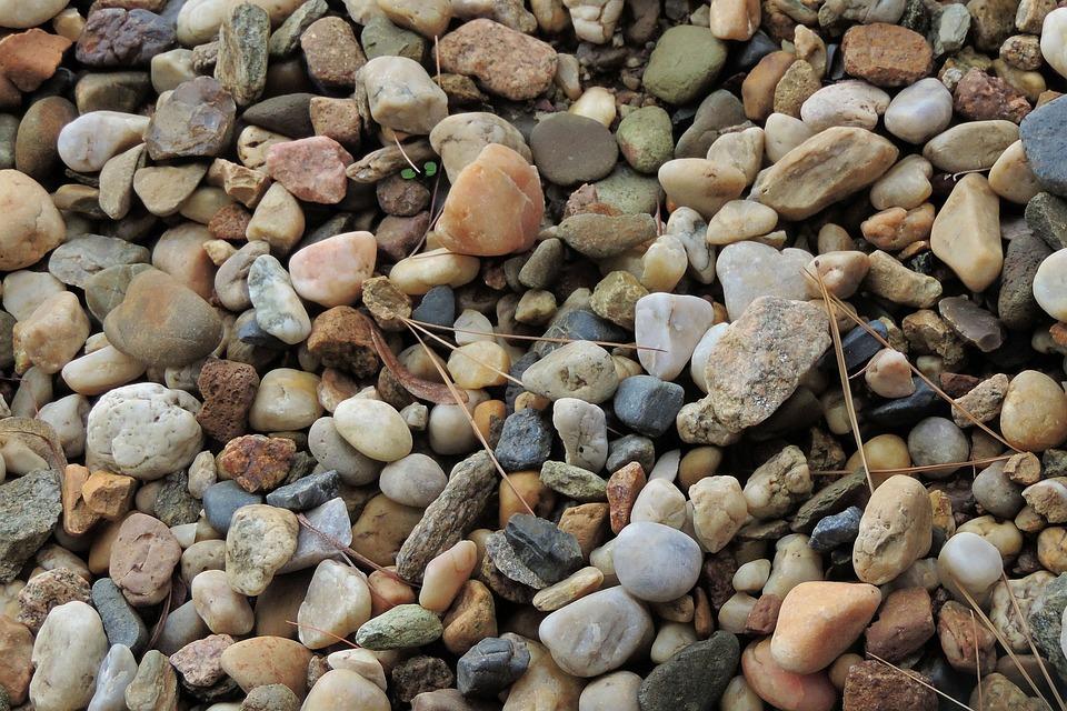 Pebble, Pebbles, Stones, Bank