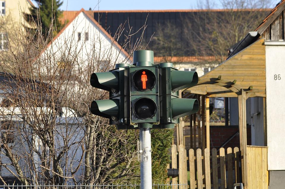 Traffic Light, Signal, Pedestrian, Traffic, Street