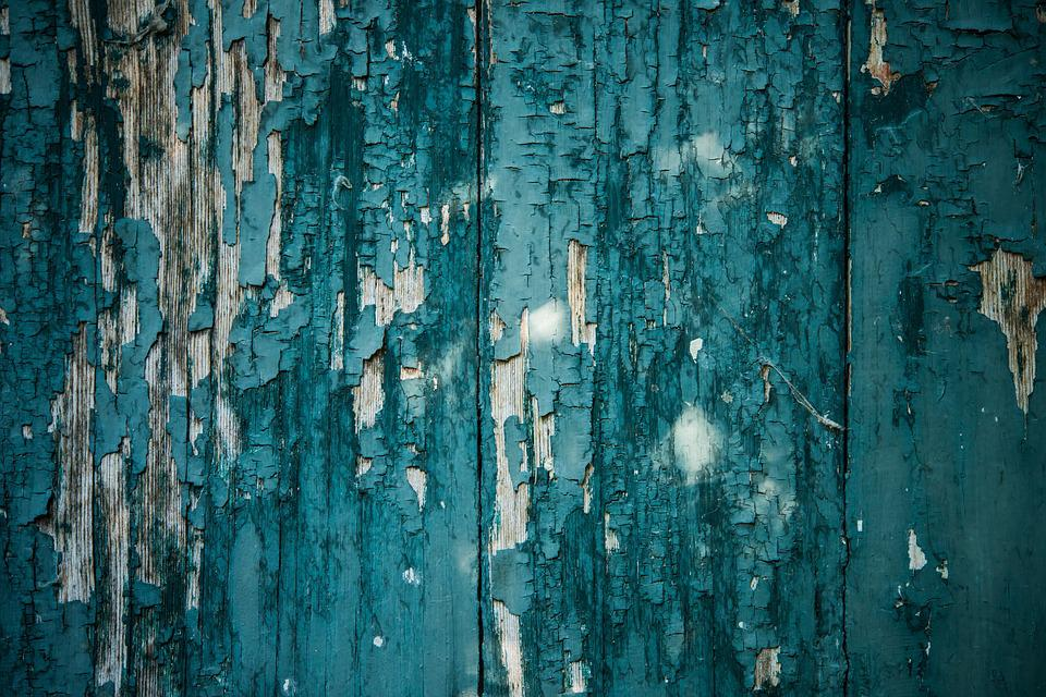 Free photo Peeling Paint Background Texture Blue green Wood Max Pixel