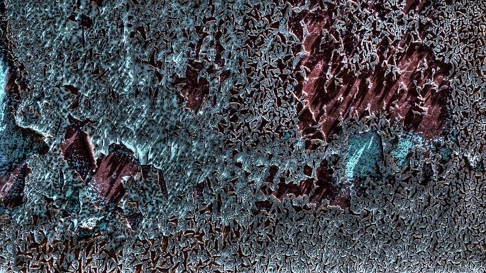 Free photo Peeling Paint Texture Paint Old Blue Red Wall Max Pixel
