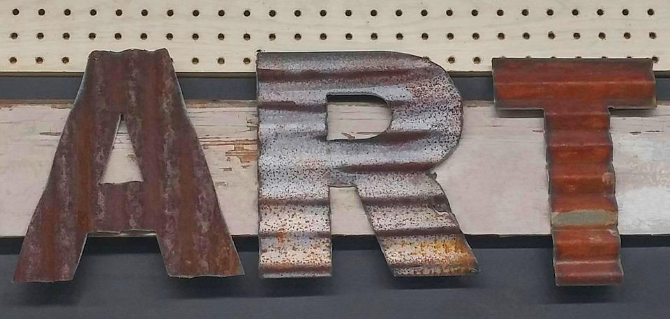 Art, Metal, Texture, Rust, Corrugated, Pegboard, Wood