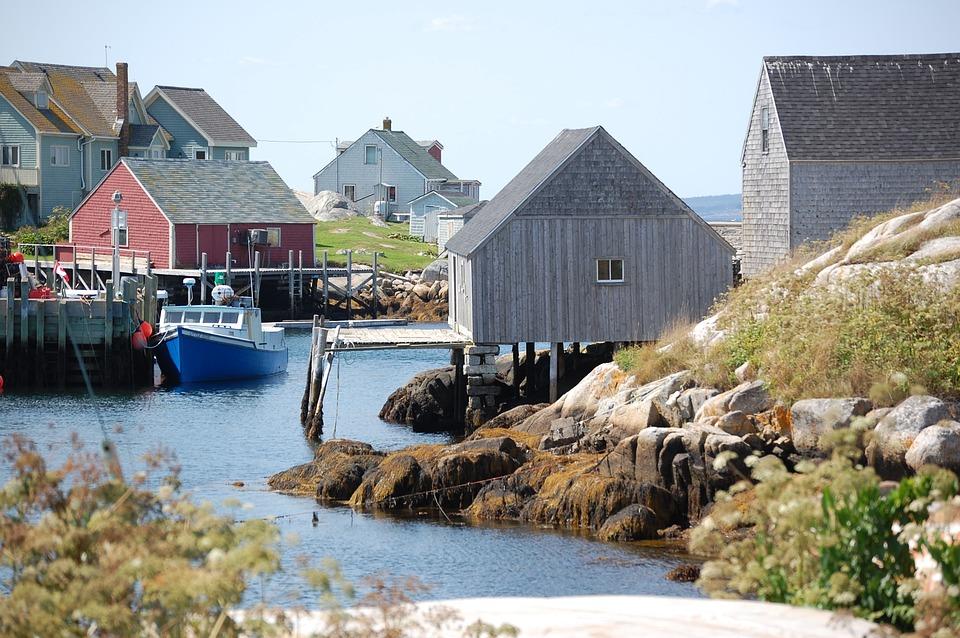 Peggy's Cove, Ns Canada, Coastal
