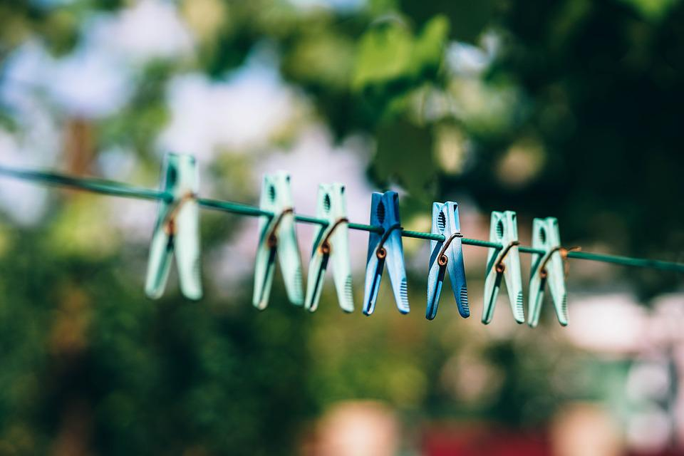Pegs, Clothe Pegs, Drying, Clothesline, Clothespin, Dry