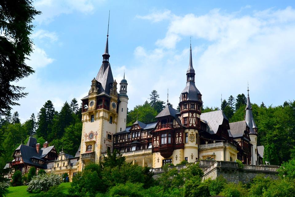 Peles, Castle, Architecture, Building, Patrimony