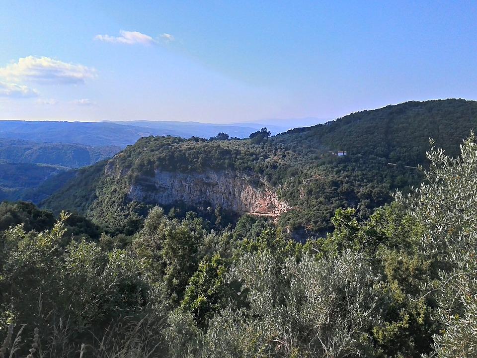 Mountain, Greece, Pelion, Greek, Trail, Forest