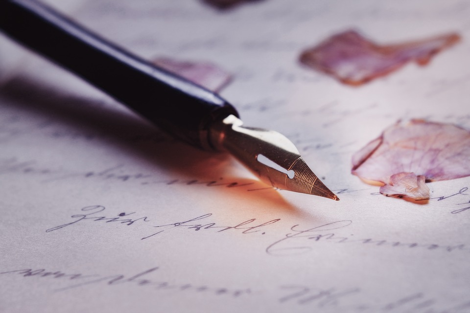 Pen, Font, Macro, Calligraphy, Fountain Pen