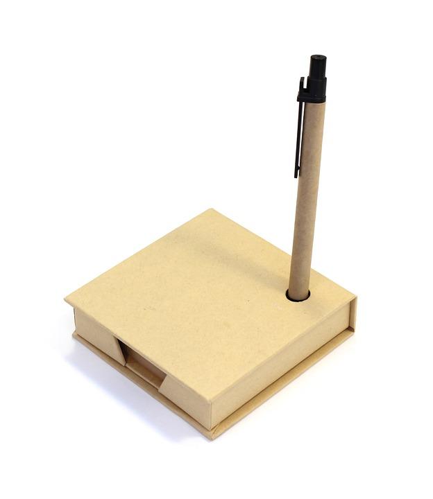 Sheets, Box, Paper, Pen