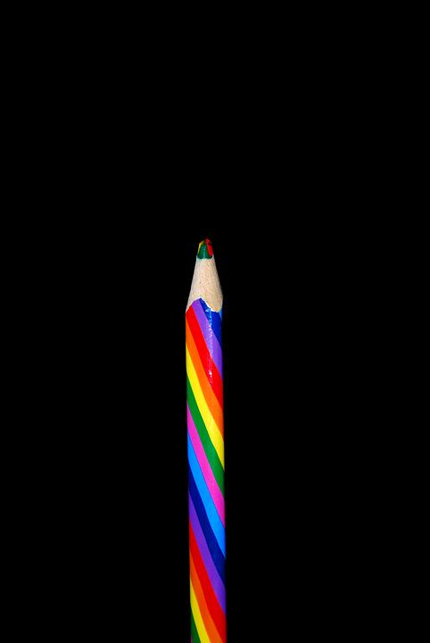 Color, Pen, Rainbow Colors, Paint, Draw