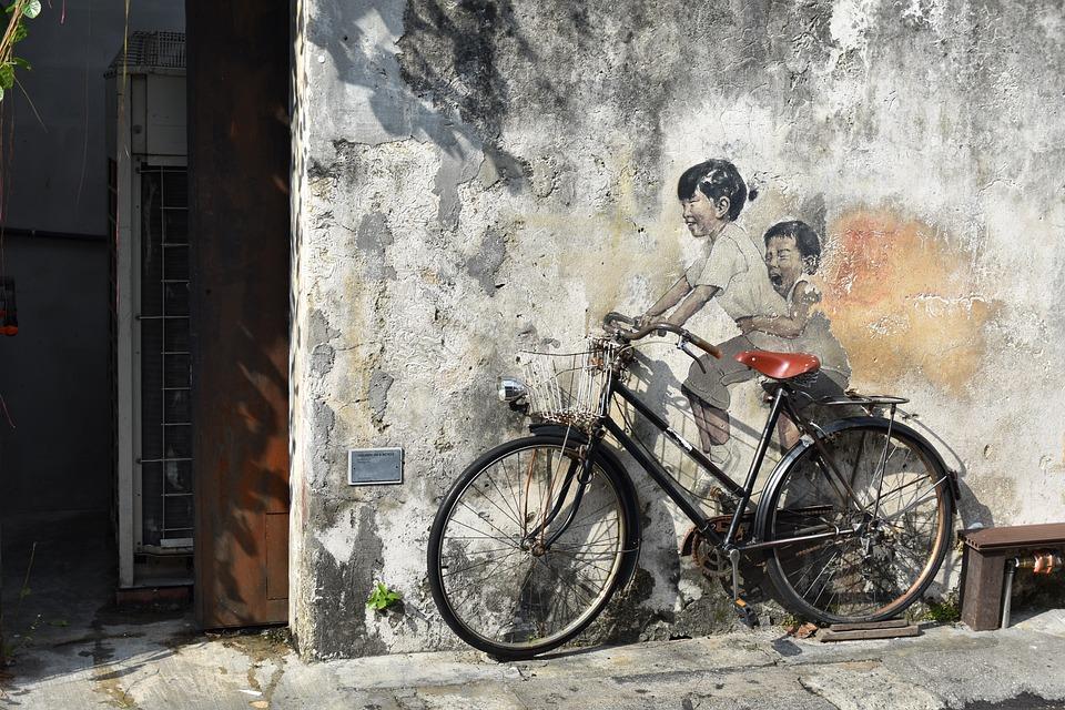 Georgetown, Penang, Malaysia, Asia, Street Art, Travel