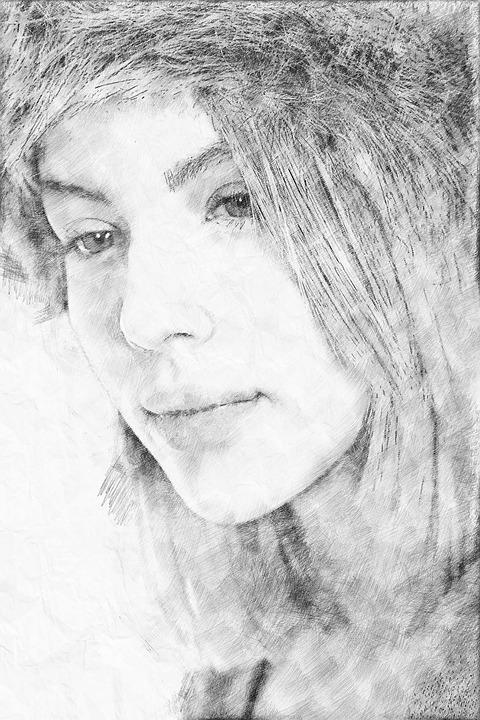 Drawing, Pencil, Drawing Pencil, Digital Drawing