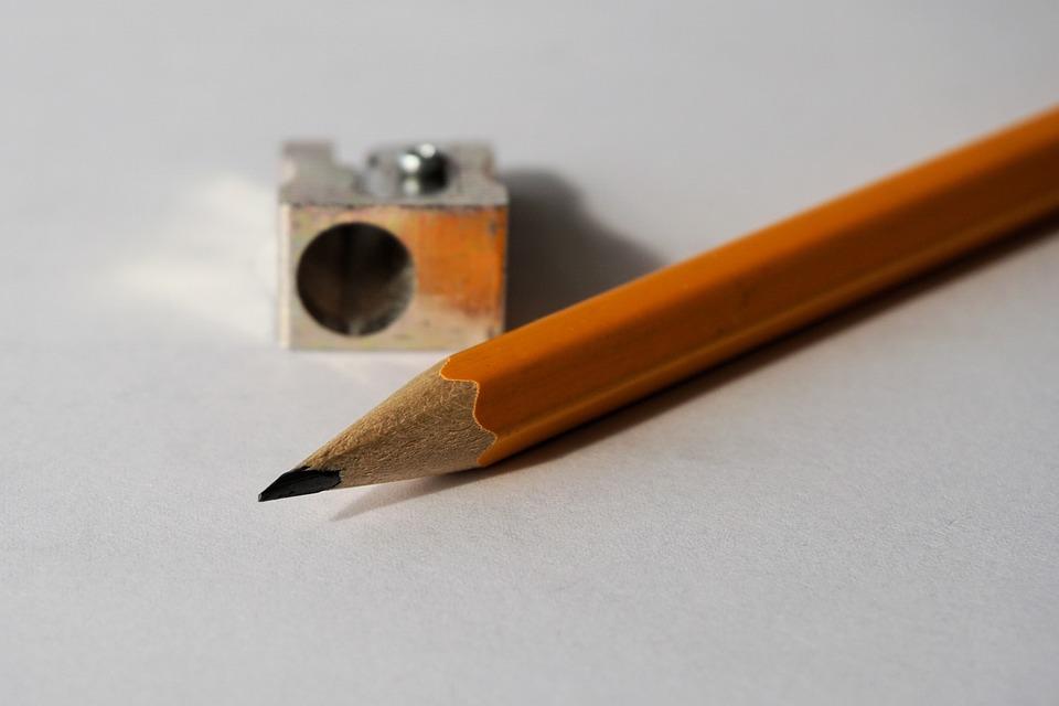 Pencil, Pencil Sharpener, Tips On, Leave