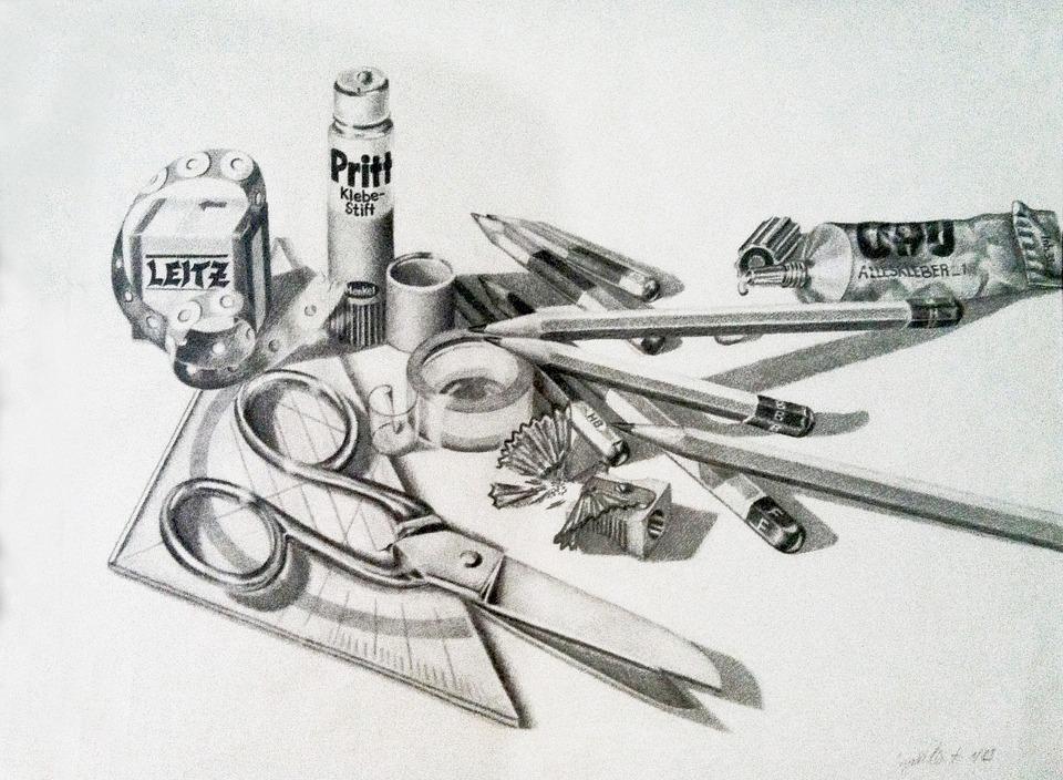 Pencil, Still Life, Pencils