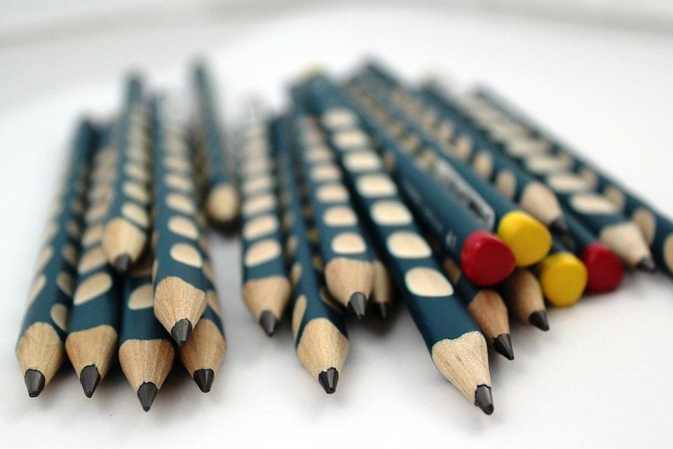 Pencil, Pencils, Writing, Child, Ergonomics, Ergonomic