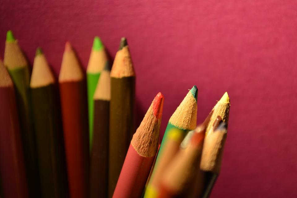 Pencils, Education, Drawing, Color, School, Colorful