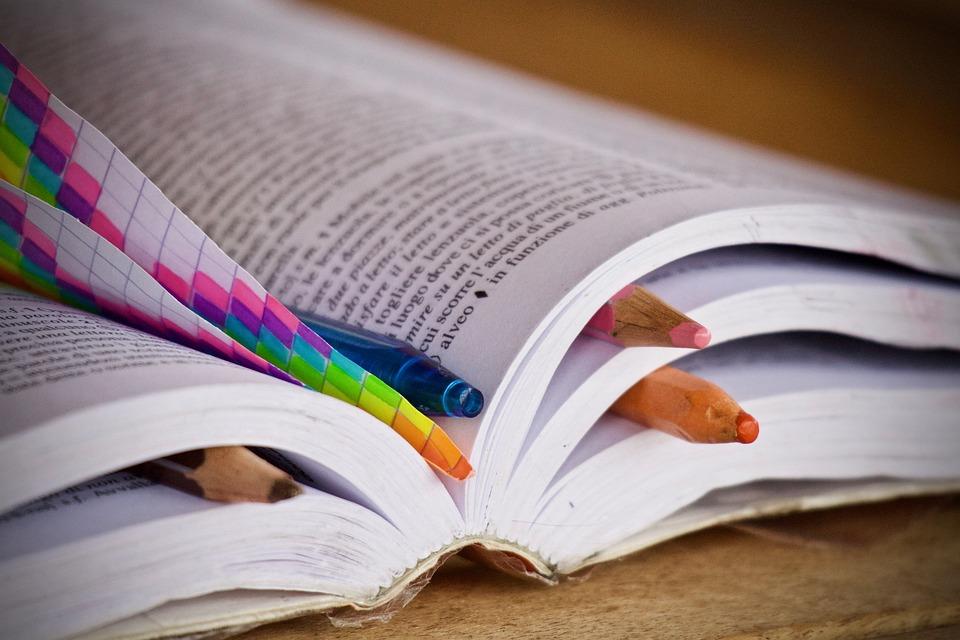 Books, Pencils, Pens, Map, Dictionary, Education