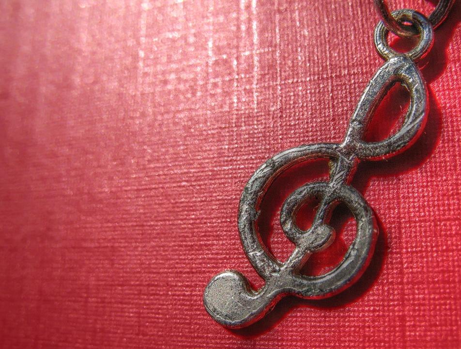 Clef, Music, Solfeggio, Pendant