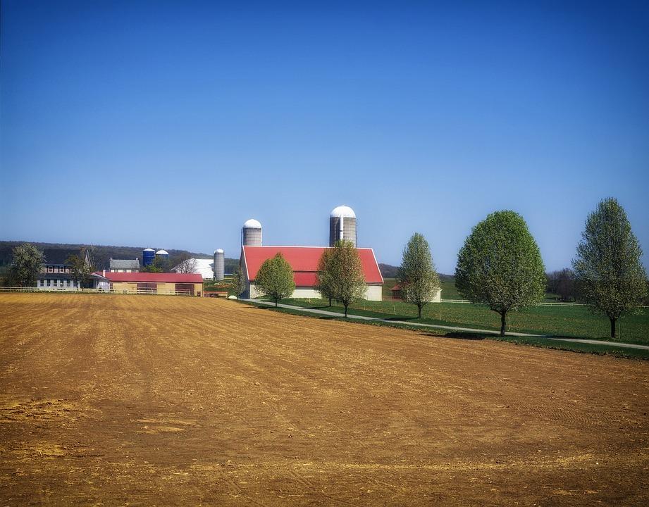 Pennsylvania, Landscape, Scenic, Farm, Rural