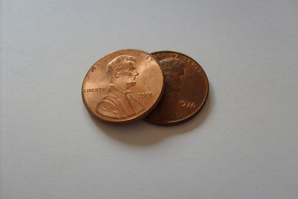 Free photo Penny Coins Coin Money Lincoln Cent - Max Pixel