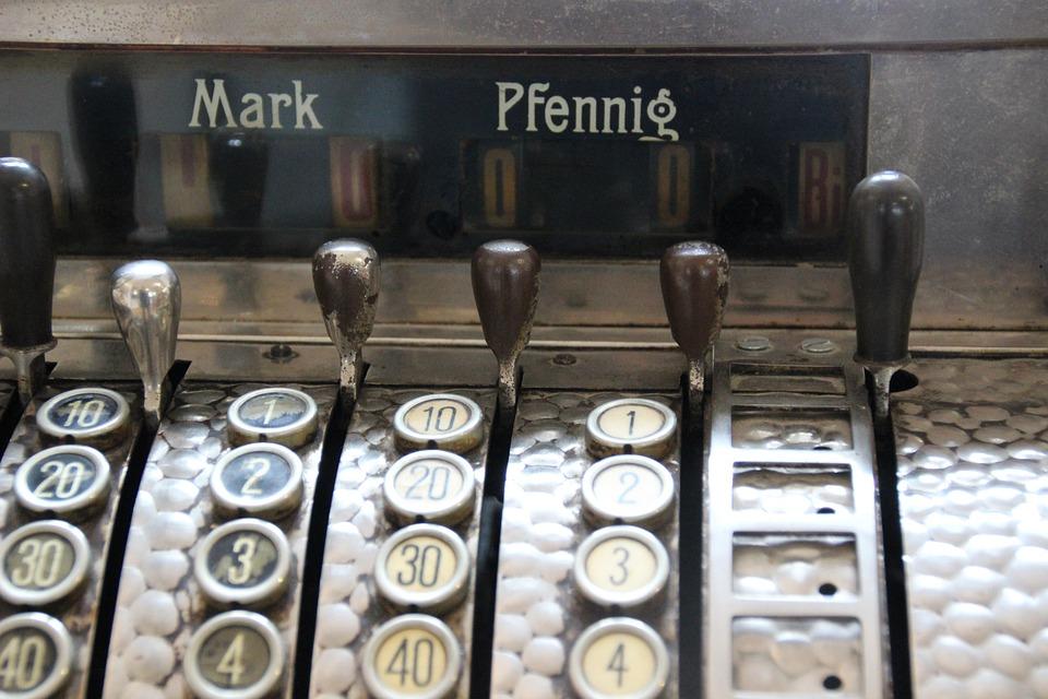 Cash Machines, Deutsche Mark, Penny, Historically