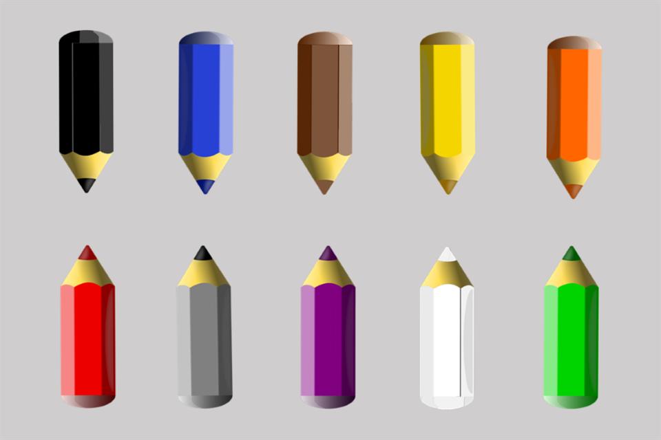 Pens, Pencils, Colors, Paint, Draw