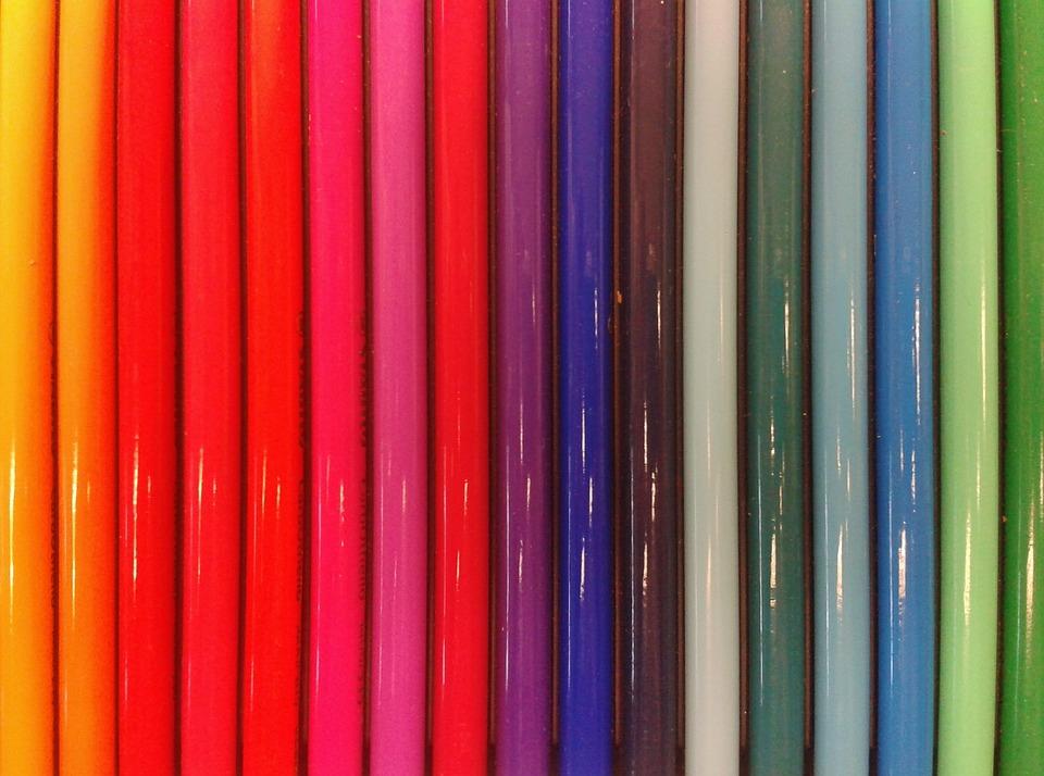 Pens, Pen, Colored Pencils, Colorful, Colour Pencils