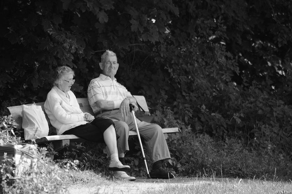 Pension, Break, Park Bench, Out, Recovery, Eventide