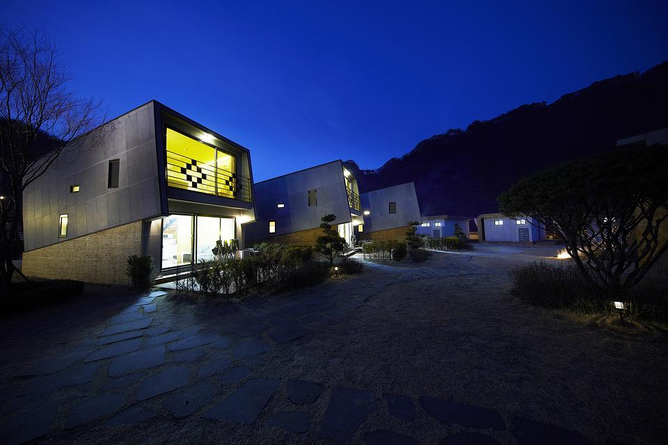 Pension, Hugh Sat Pia, Night View, Camping Site