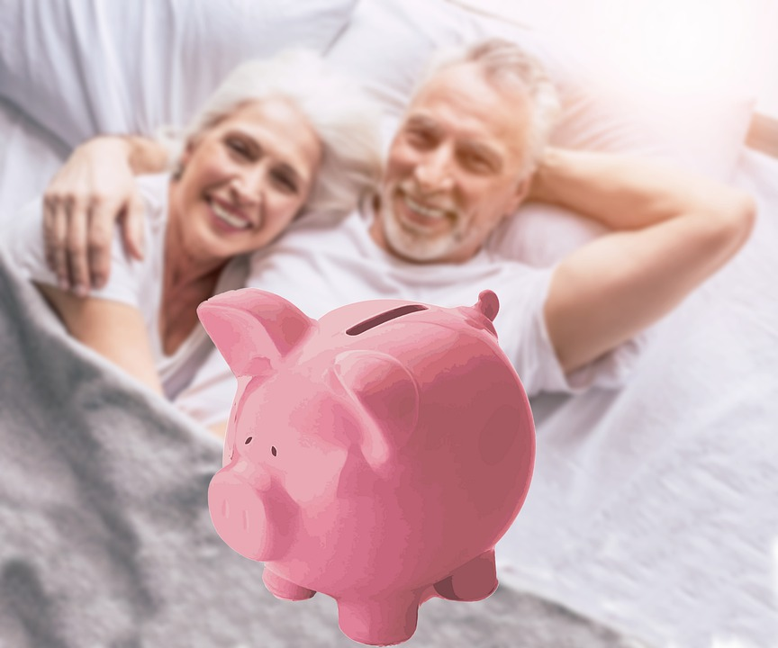 Pension, Fund, Retirement, Savings, Old, Couple, Money