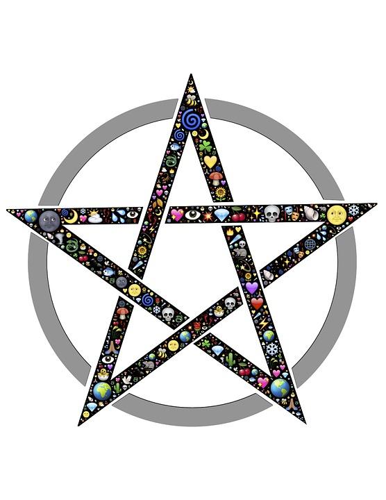Free Photo Pentacle Star Circle Symbol Pentagram Pentangle Max Pixel