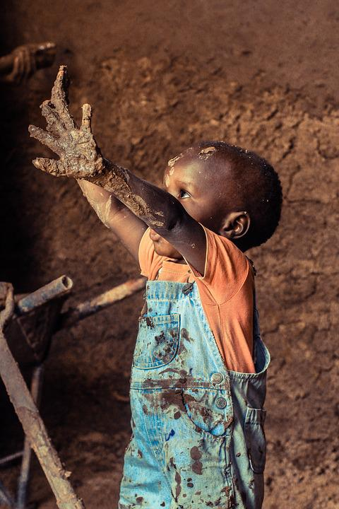 People, Adult, Child, Portrait, Turkana, Kid, Africa