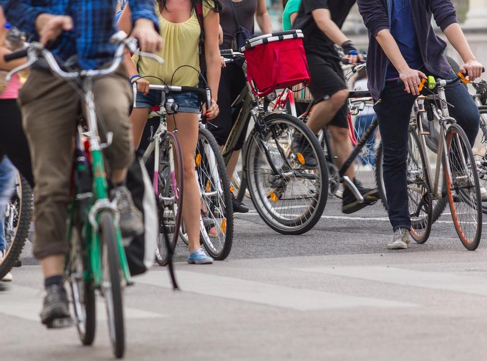 City Cycling, Wheels, People, Bike, Cycling, Wheel