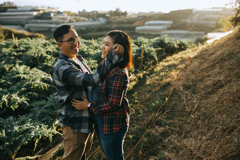 Love, Farm, People, Courple, Relationship, Woman, Man