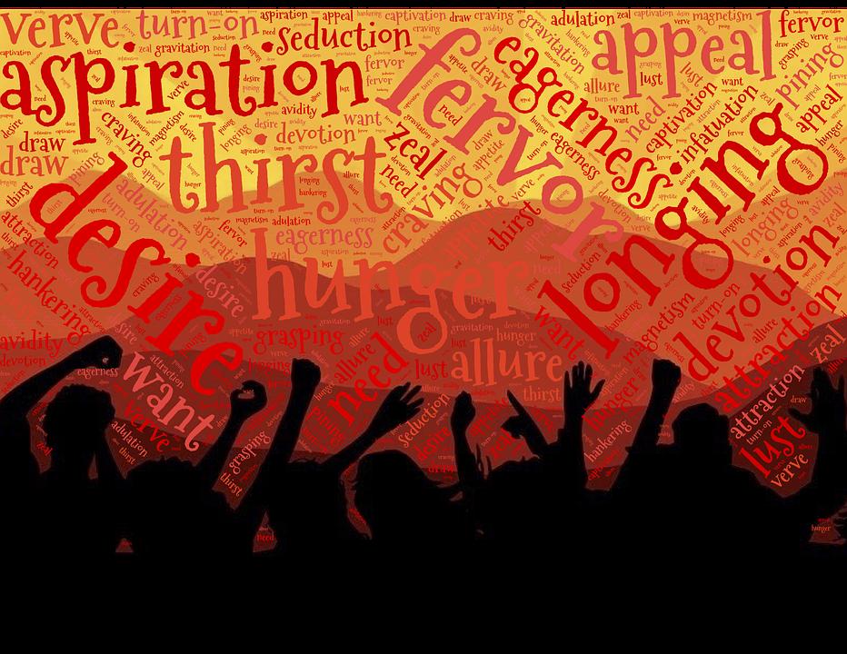 Desire, Crowd, Fervor, People, Audience, Attention