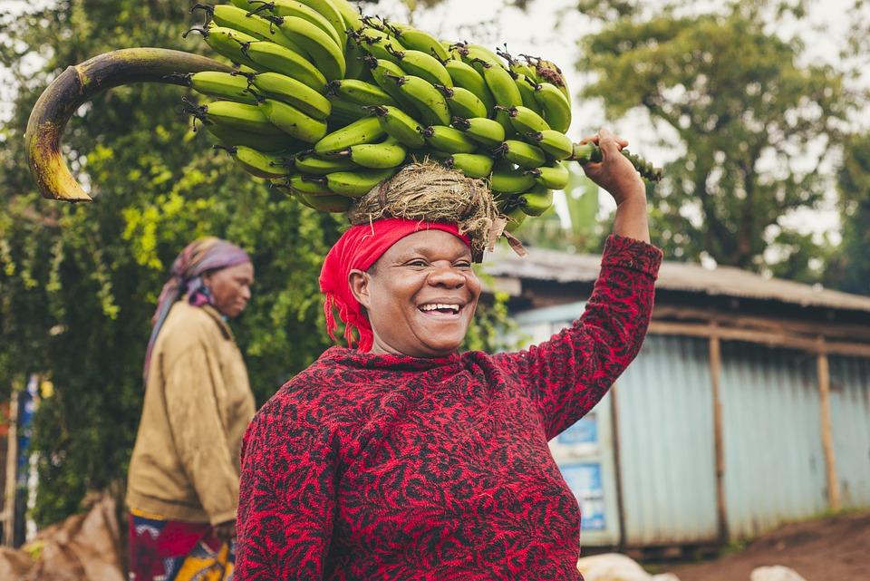 Banana, Woman, Mom, People, Cooking, Food, Sunny