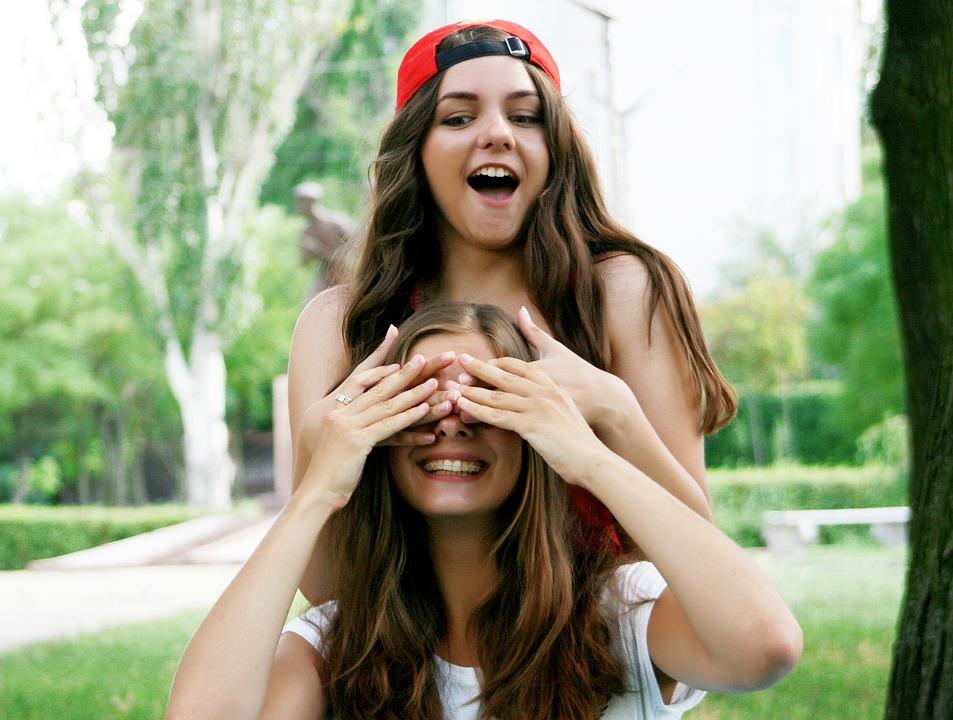 Friendship, Girls, Nature, People, Summer, Outdoors