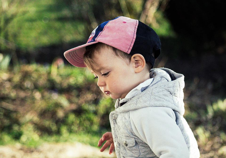 Kid, Baby, Kinder, People, Play, Cute, Hat, Cap, Child