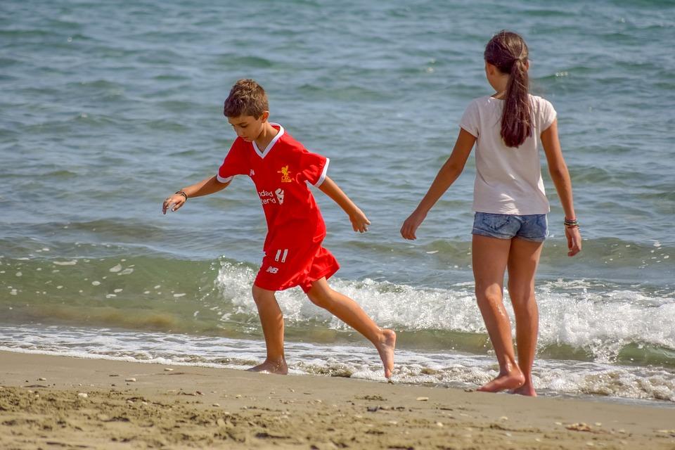 Children, Kids, People, Beach, Sea, Boy, Childhood
