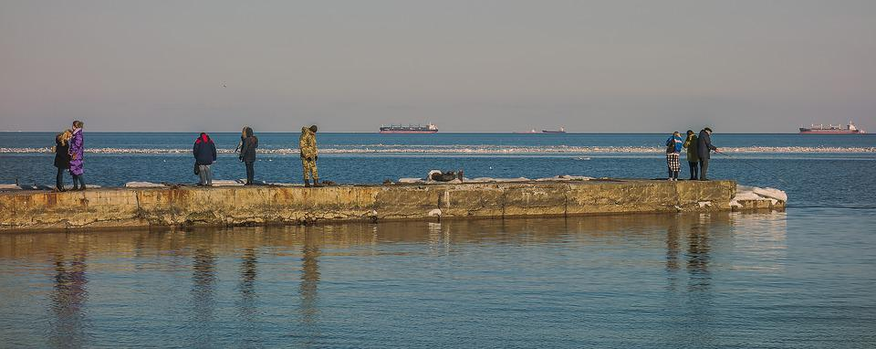 Odessa, Sea, Langeron, People