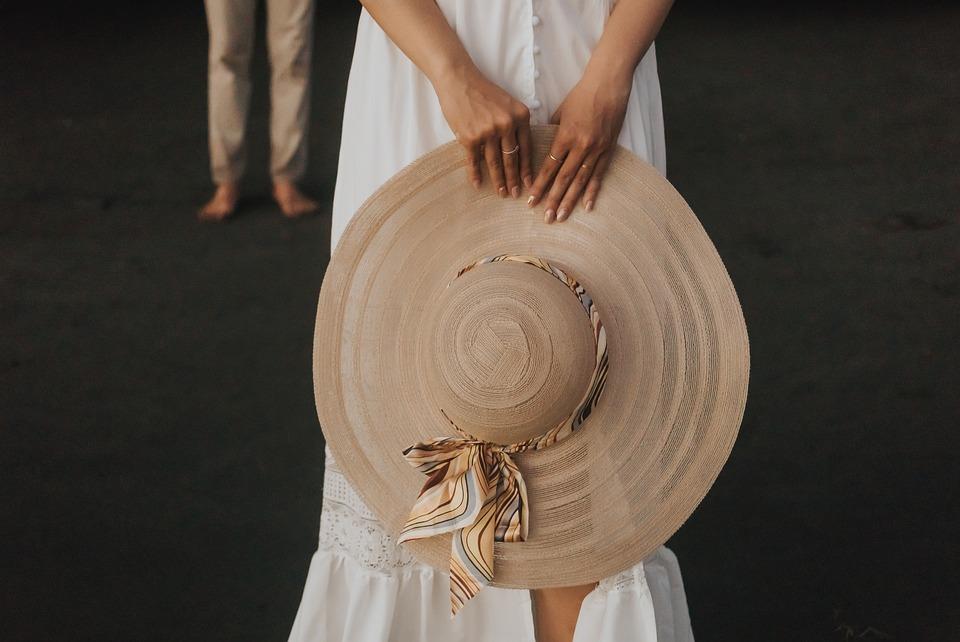 Couple, Hat, Love, Woman, Man, People, Female, Lovers