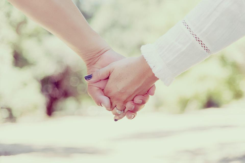 Hands, Holding Hands, People, Love, Together, Woman
