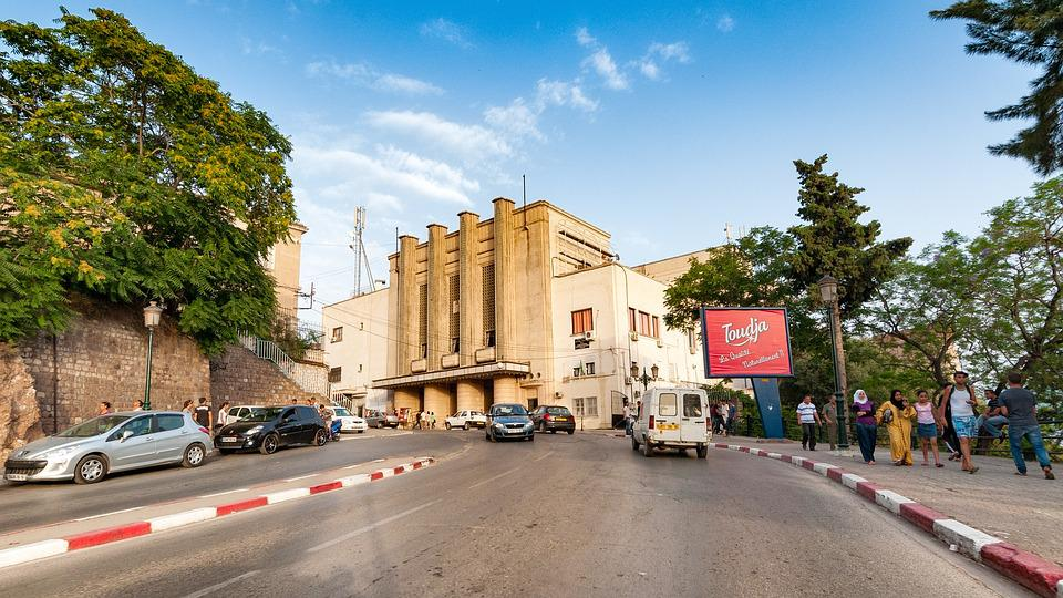 Road, Bejaia, Algeria, Mediterranean, City, People