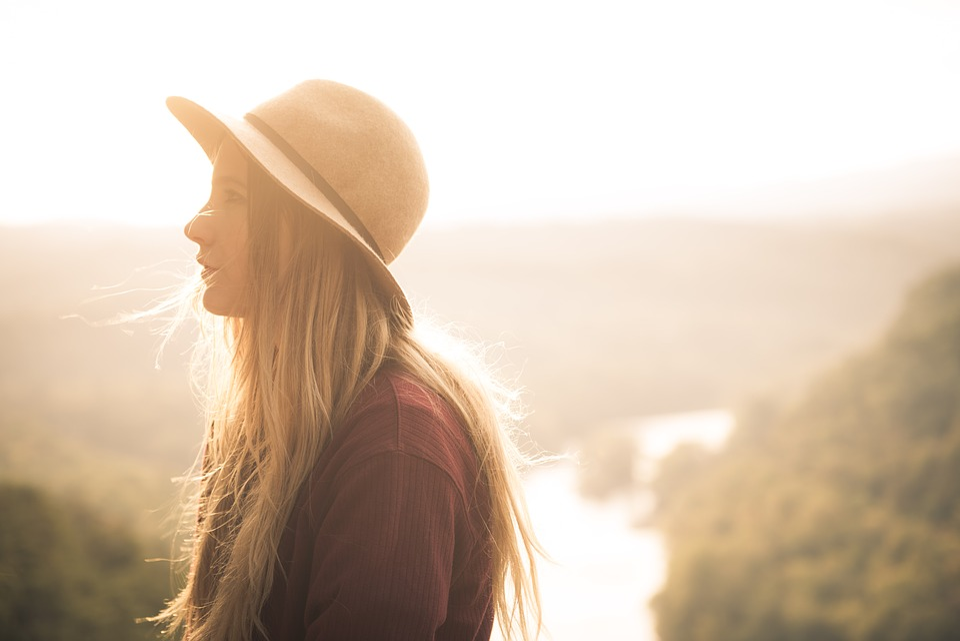 Backlit, Dawn, Girl, Outdoors, People, Portrait, Summer
